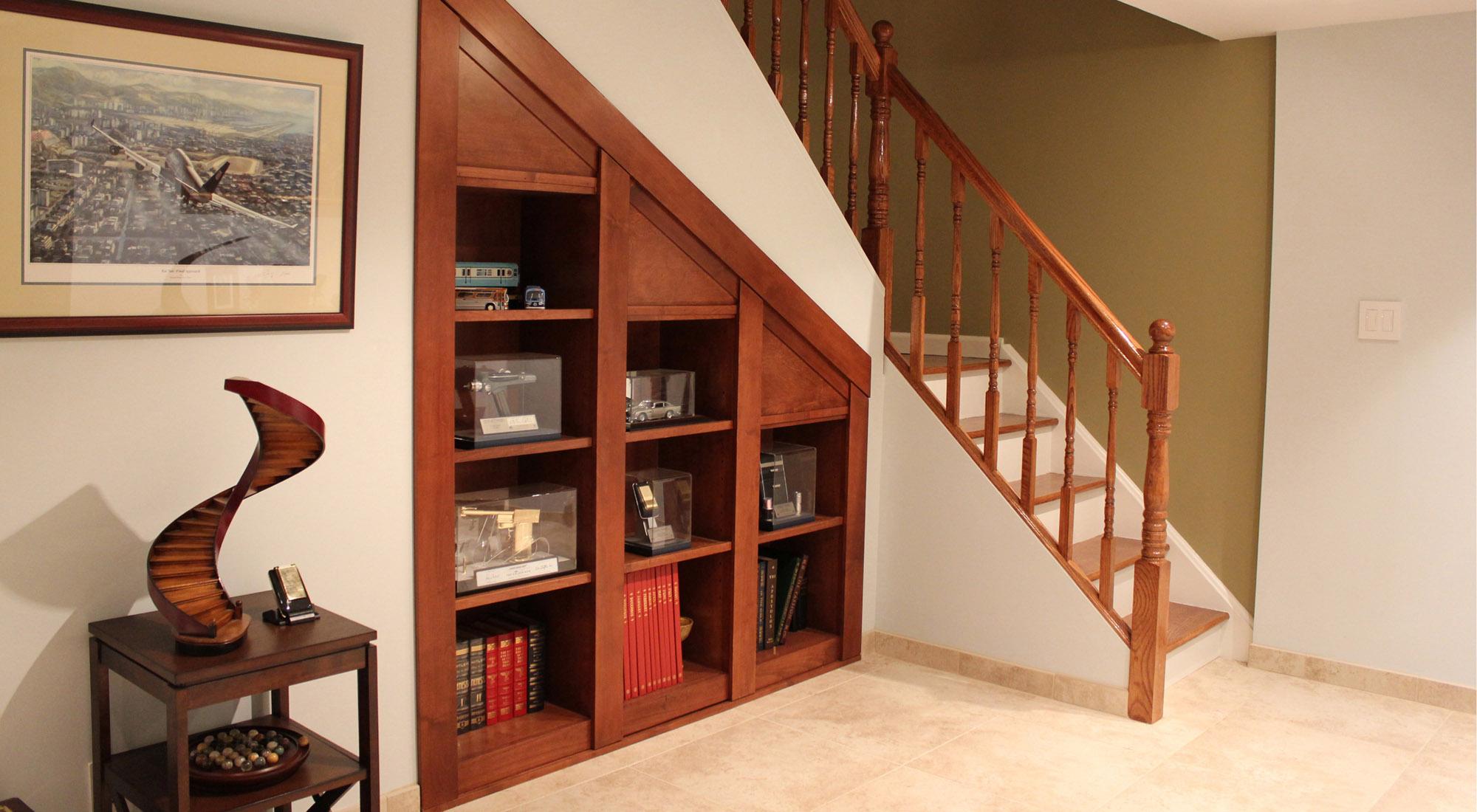 楼梯口储藏柜子设计图